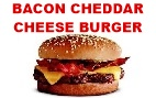 Bacon Cheddar Cheese Burger